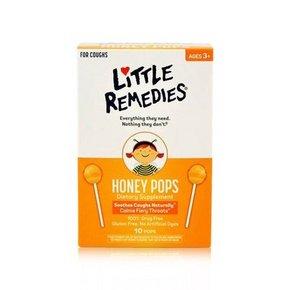 LITTLE REMEDIES 天然蜂蜜棒棒糖 10支装 折25.7元(双重优惠)