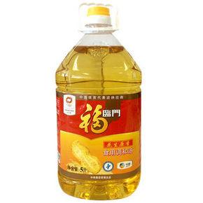 福临门 花生原香食用调和油 5L 44元