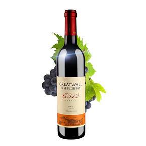 长城 金装数码 G312解百纳干红葡萄酒 750ml 11.9元(21.9-10券)