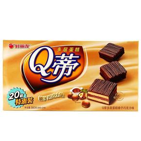 好丽友 Q蒂多层蛋糕 560g 9.9元