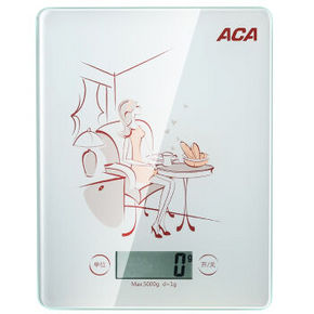 ACA 北美电器 电子厨房秤 9.9元
