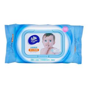 维达 湿巾 婴儿手口可用湿巾 80片*2包 19.9元