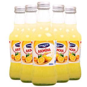 土耳其进口 阿卡娜 柠檬味 充气饮料 200ml*6瓶 19.9元