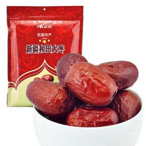 新疆特产  味正品新疆和田大枣三星 500g 12.9元