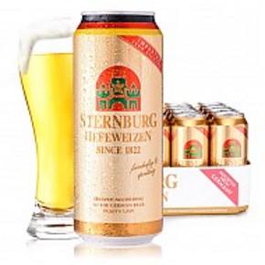 Sternburg 斯汀伯格小麦啤酒  500ml*24听 78元