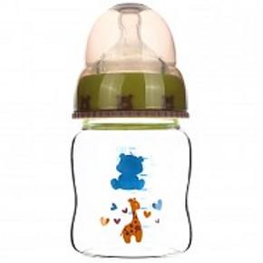 小白熊 新生儿宽口径玻璃奶瓶 160ml 折27.5元(52.5,199-100)