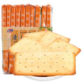 日盈 清闲苏打 发酵饼干椰蓉味 508g 折8.3元(5件7折)