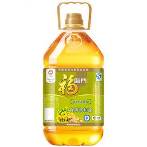 福临门 菜籽清香型食用调和油 4L 30.9元