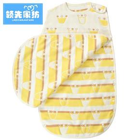 领先 纯棉8层加厚纱布婴儿睡袋 40*60cm 49元包邮(79-30券)