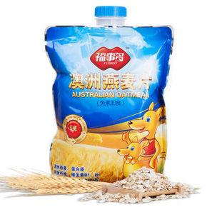 福事多 澳洲纯燕麦片500g  6.6元