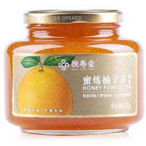 恒寿堂 蜂蜜柚子茶 850g 折10元(可199-100)