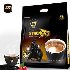 越南进口 中原 G7 三合一浓醇咖啡 25g*28包 29.9元