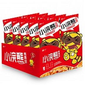 吃货速来# 统一 小浣熊 有意丝 意式红烩味 30克*10包*2箱 9.9元(买1送1)