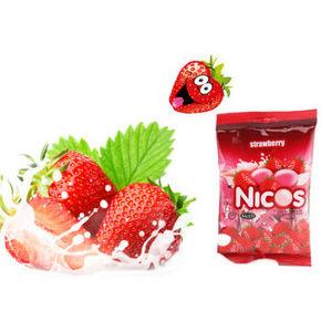 马来西亚进口 Nicos 尼可思 水果味软糖 100g 9.9元包邮