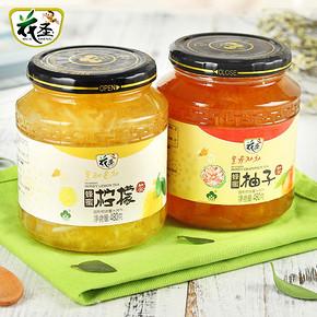 花圣 蜂蜜柚子茶480g+柠檬茶480g 券后24.8元包邮(29.8-5券)