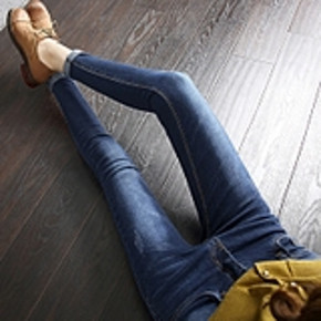 秋冬新款女士高腰显瘦小脚牛仔裤 券后39元包邮