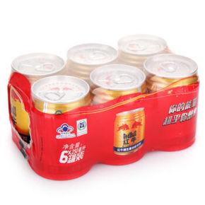 红牛 维生素功能饮料 250ml*6罐 29.9元