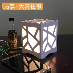 绮兰朵 卧室床头灯创意LED小台灯 方款  券后6.9元包邮