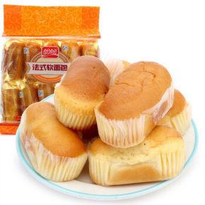 盼盼 法式软面包香橙味 200g 折2.7元(5件7折)