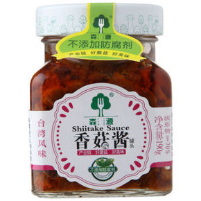 森源 香菇酱 台湾风味 190g 6.9元