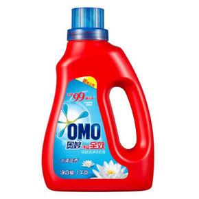 奥妙 净蓝全效深层洁净洗衣液 水清莲香 1kg  折9.9元(19.9,199-100)