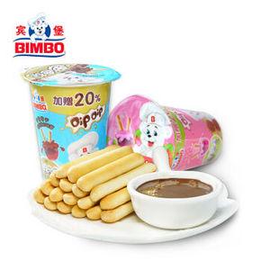 BIMBO 宾堡 迪迪手指饼干 180g*6杯 9.8元