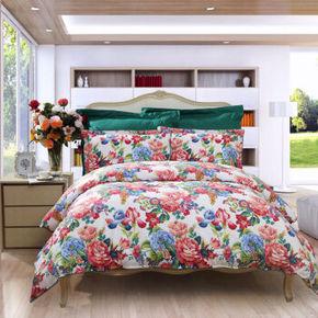 移动端:FUANNA 富安娜 家纺床单四件套 299元包邮