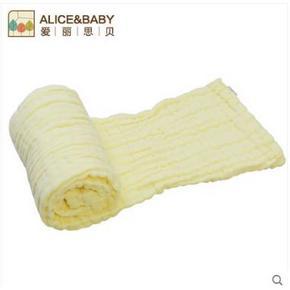 爱丽思贝 儿童6层纱布浴巾100*92cm   19元包邮(29-10券)