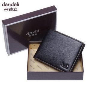 丹德立 男士短款钱包 券后19元包邮