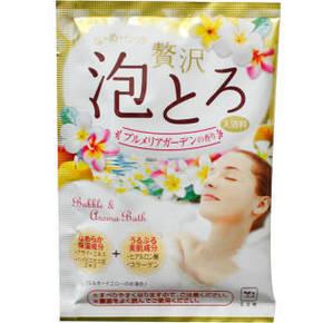Cow 牛乳石碱 汤物语胶原美肌泡泡入浴剂 30g 11.7元(9.9+1.8)