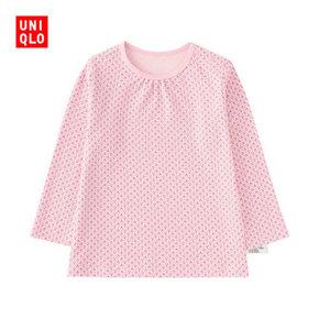 UNIQLO 优衣库 婴幼儿圆领长袖T恤 39元