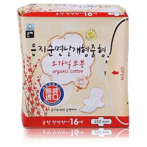 恩芝 纯棉日用卫生巾 250mm 16片 11.9元