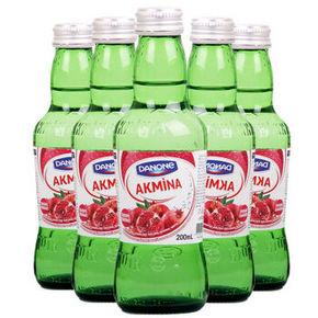 土耳其进口 阿卡娜 石榴味 充气饮料 200ml*6瓶 19.9元