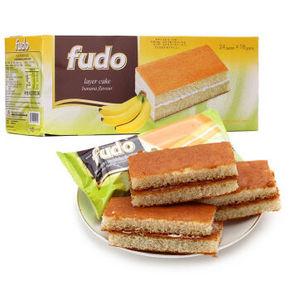福多 蛋糕香蕉味 432g 折16.5元(29,99-50)