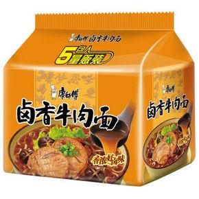 康师傅 卤香牛肉面五连包 折8.75元