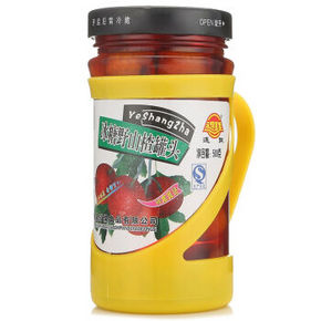 连联 水果罐头 冰糖野山楂罐头 500g 9.9元