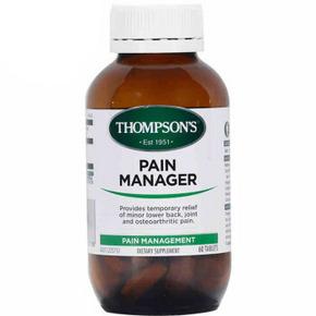 THOMPSON'S 汤普森 缓解疼痛片 60片*2瓶 144.4元包邮(258-129+15.4)