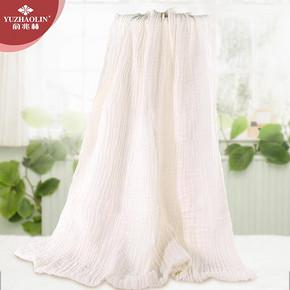 俞兆林 纯棉纱布6层加厚婴浴巾 29元包邮(59-30券)