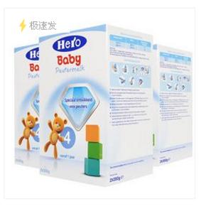 荷兰 Herobaby 婴儿配方奶粉 4段700g×3 165元