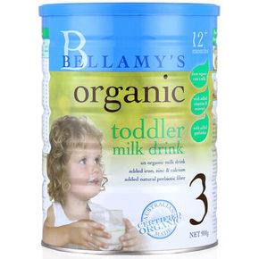 Bellamy's 贝拉米 婴幼儿有机奶粉3段 900g 166.7元包邮(149+17.7)