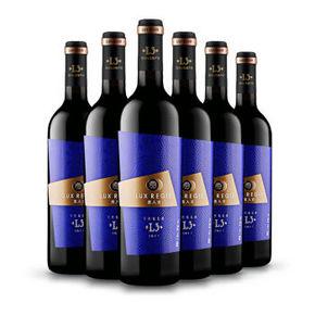 类人首 L3干红葡萄酒 整箱装 750ml*6 168元包邮(268-100)