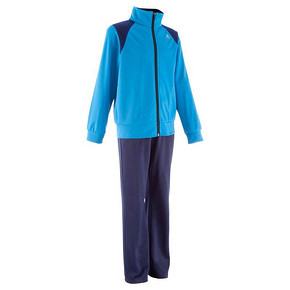 迪卡侬 儿童运动套装 拉链上衣+长裤 29.9元