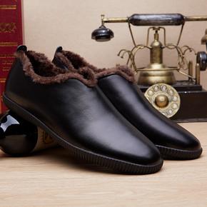 联邦·朗派 男士冬季加绒保暖棉鞋 劵后29元包邮