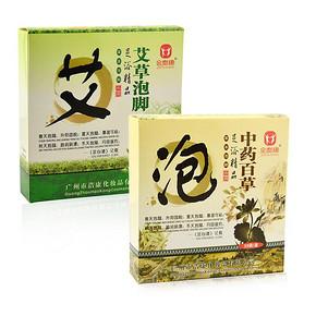 金泰康 艾草泡脚粉+老姜泡脚粉 共40袋 5.9元包邮(15.9-10券)