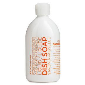 加拿大 萨帕帝雅 植物精油洗洁精 葡萄柚+香柠檬 475ml 29元
