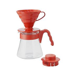 HARIO VCSD-02R 手冲滴滤式玻璃咖啡壶 119元包邮
