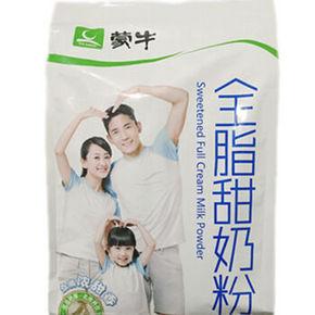 蒙牛 成人奶粉 全脂甜奶粉 400g 24.8元(可2件75折/满99-30)
