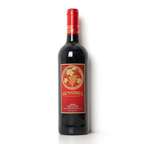 森斯伯 西班牙 干红葡萄酒  750ml   19元包邮(39-20)