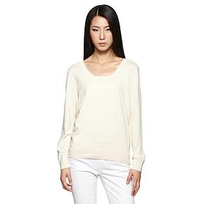 Esprit 埃斯普利特 多色舒适纯棉圆领套头衫 56元