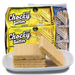泰国进口 chocky butter 黄油味威化饼干 432g 券后16.8元包邮